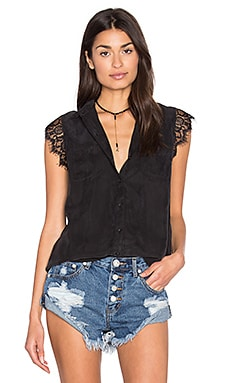 Obey Heart Noir Shirt in Black
