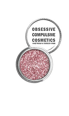 Cosmetic Glitter in Pink
