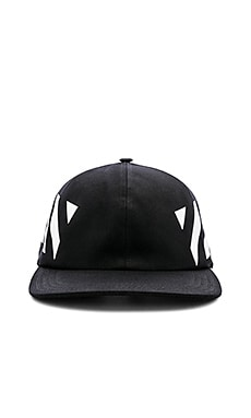 Diagonal Baseball Cap OFF-WHITE $165