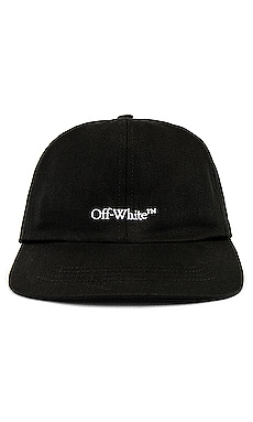 Bookish OW Basic Baseball Cap OFF-WHITE $245