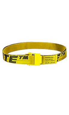 2.0 Industrial Belt OFF-WHITE $290