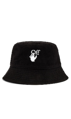 Hand Off Bucket Hat OFF-WHITE $280 NEW