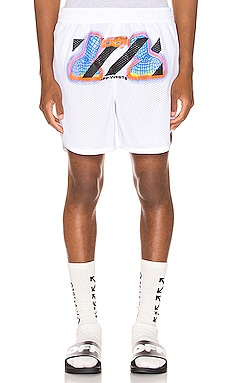 SHORT MAILLE FILET THERMO OFF-WHITE $375