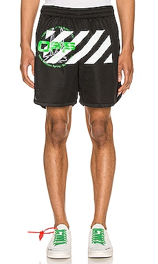 Harry The Bunny Mesh Shorts OFF-WHITE $345