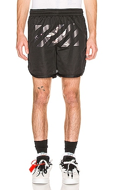 Caravaggio Arrow Mesh Shorts OFF-WHITE $345