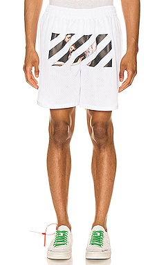 Caravaggio Angel Mesh Shorts OFF-WHITE $340