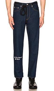 No Wash Medium 5 Pocket Jeans