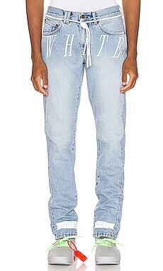 Slim Denim Jean OFF-WHITE $672