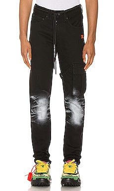 Slim Asymmetric Jeans OFF-WHITE $473