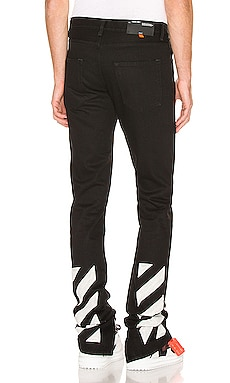 Slim Split Jeans OFF-WHITE $487