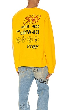 Industrial Y013 Incomp Crewneck OFF-WHITE $424