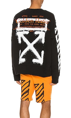 SWEAT RAS DE COU INCOMPIUTO OFF-WHITE $399
