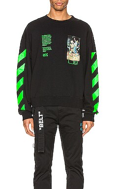 SWEAT RAS DE COU PASCAL OFF-WHITE $570