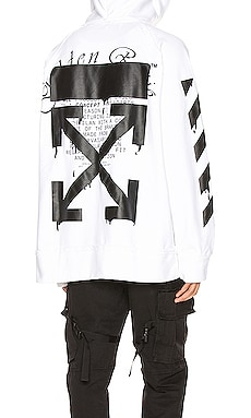 SWEAT À CAPUCHE INCOMP OFF-WHITE $605