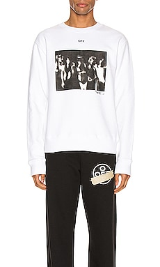 Spray Painting Slim Crewneck OFF-WHITE $330