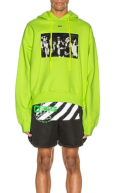 Spray Painting Over Hoodie OFF-WHITE $413