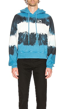 Arrows Tie Dye Contour Hoodie OFF-WHITE $489