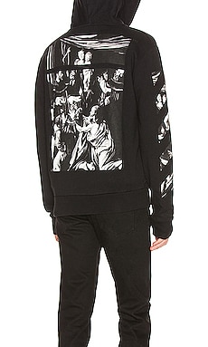 Caravaggio Zip Hoodie OFF-WHITE $660