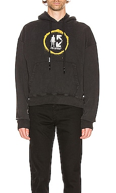 Spray Circle Hoodie OFF-WHITE $321
