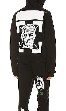 Masked Face Over Hoodie OFF-WHITE $570