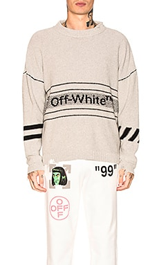 Cotton Off-White Sweater OFF-WHITE $507