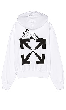 SWEAT À CAPUCHE CATERPILLAR OFF-WHITE $535