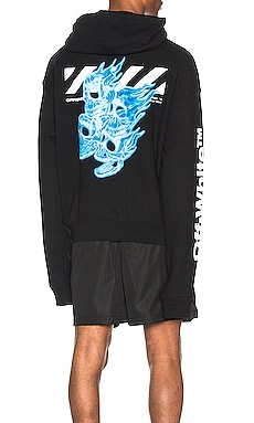SWEAT À CAPUCHE SKULLS OFF-WHITE $625