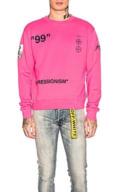 Boat Self Crewneck Sweatshirt OFF-WHITE $375
