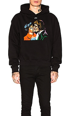 Kiss Over Hoodie OFF-WHITE $665