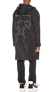 IMPERMÉABLE UNFINISHED OFF-WHITE $1,105