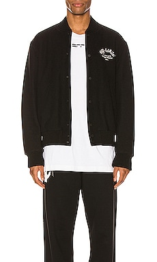 Arrow Varsity Jacket OFF-WHITE $1,240
