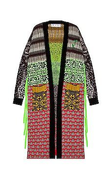 Persian Fantasy Kimono OFF-WHITE $1,849