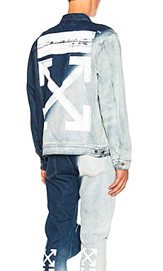 Brush Arrows Denim Jacket