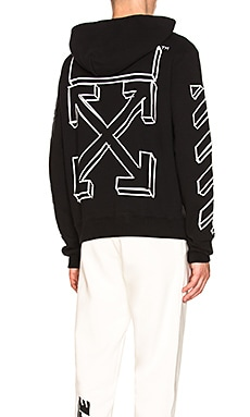 SUDADERA MARKER ARROWS OFF-WHITE $620