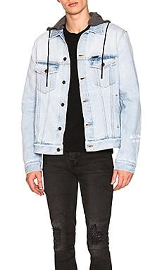 Denim Hooded Jacket OFF-WHITE $612