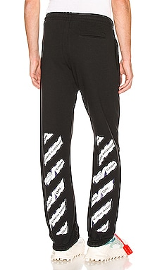 Airport Tape Slim Sweatpant OFF-WHITE $338