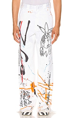 Futura Carpenter Pant OFF-WHITE $921