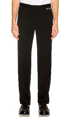 Tuxedo Zipped Pant OFF-WHITE $925