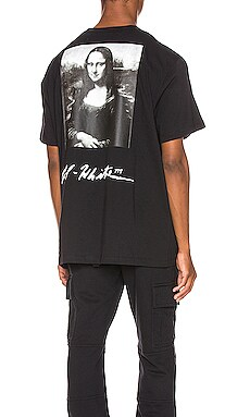 CAMISETA MONA LISA GRAPHIC OFF-WHITE $241