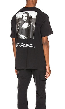 Mona Lisa Graphic Tee OFF-WHITE $241