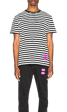 EXCLUSIVE Striped Tee OFF-WHITE $465