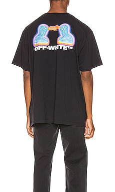 ФУТБОЛКА THERMO OVERSIZED OFF-WHITE $252