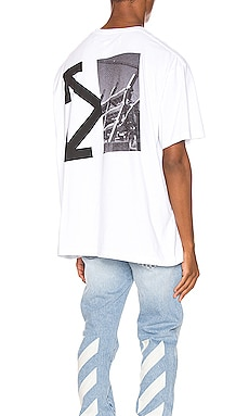 ФУТБОЛКА SPLITTED ARROWS OVERSIZED OFF-WHITE $360