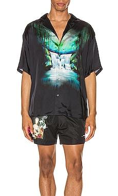 Waterfall Holiday Shirt OFF-WHITE $329