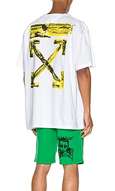 Acrylic Arrows Tee OFF-WHITE $204