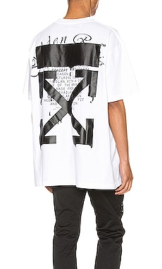 Dripping Arrows Tee OFF-WHITE $335
