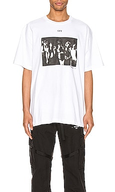 T-SHIRT GRAPHIQUE OFF-WHITE $218