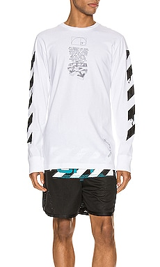 T-SHIRT GRAPHIQUE OFF-WHITE $238