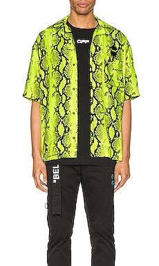 Snake Holiday Shirt OFF-WHITE $462