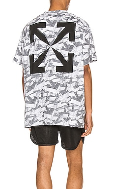Arrows Pattern Over Tee OFF-WHITE $284